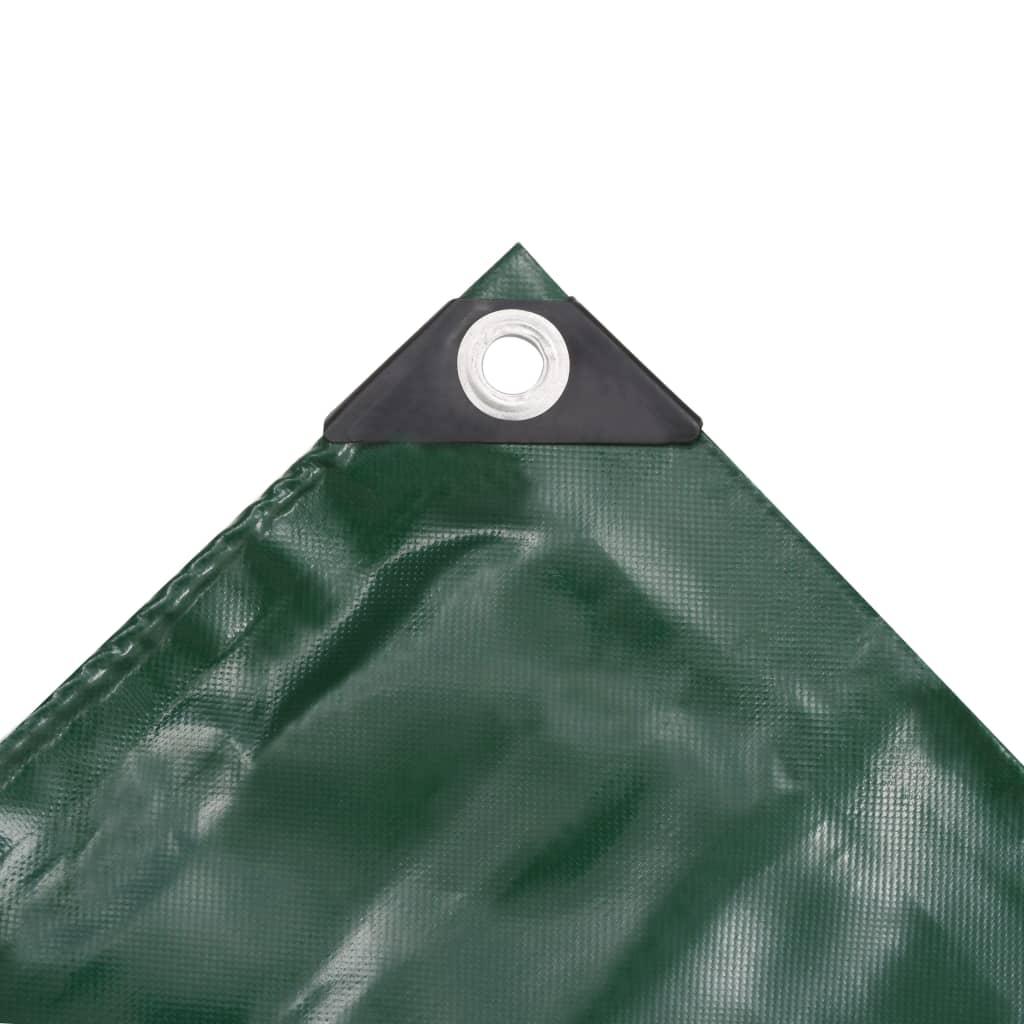 Prelată, verde, 2,5 x 3,5 m, 650 g/m²