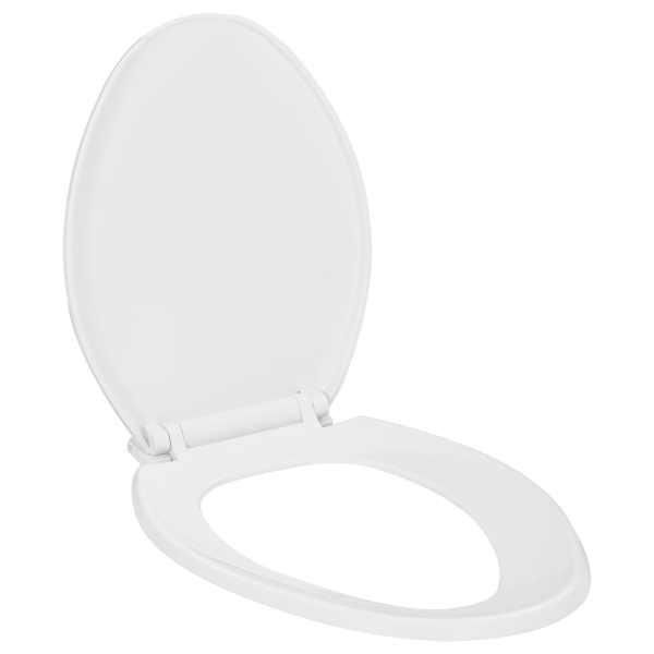 Capac WC închidere silențioasă, eliberare rapidă, alb