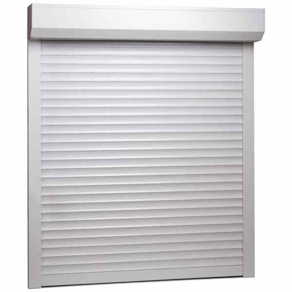 vidaXL Oblon rulant, alb, 100 x 120 cm, aluminiu
