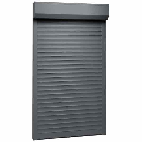 vidaXL Oblon rulant, antracit, 110 x 220 cm, aluminiu