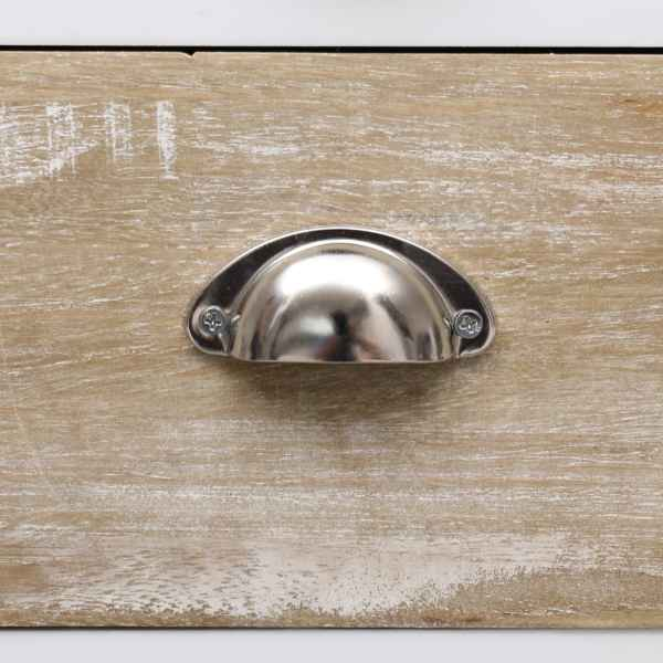 Dulap lateral, 38 x 28 x 86 cm, lemn de paulownia