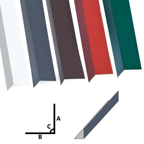 vidaXL Profile colț în L 90° 5 buc antracit 170 cm 100×100 mm aluminiu