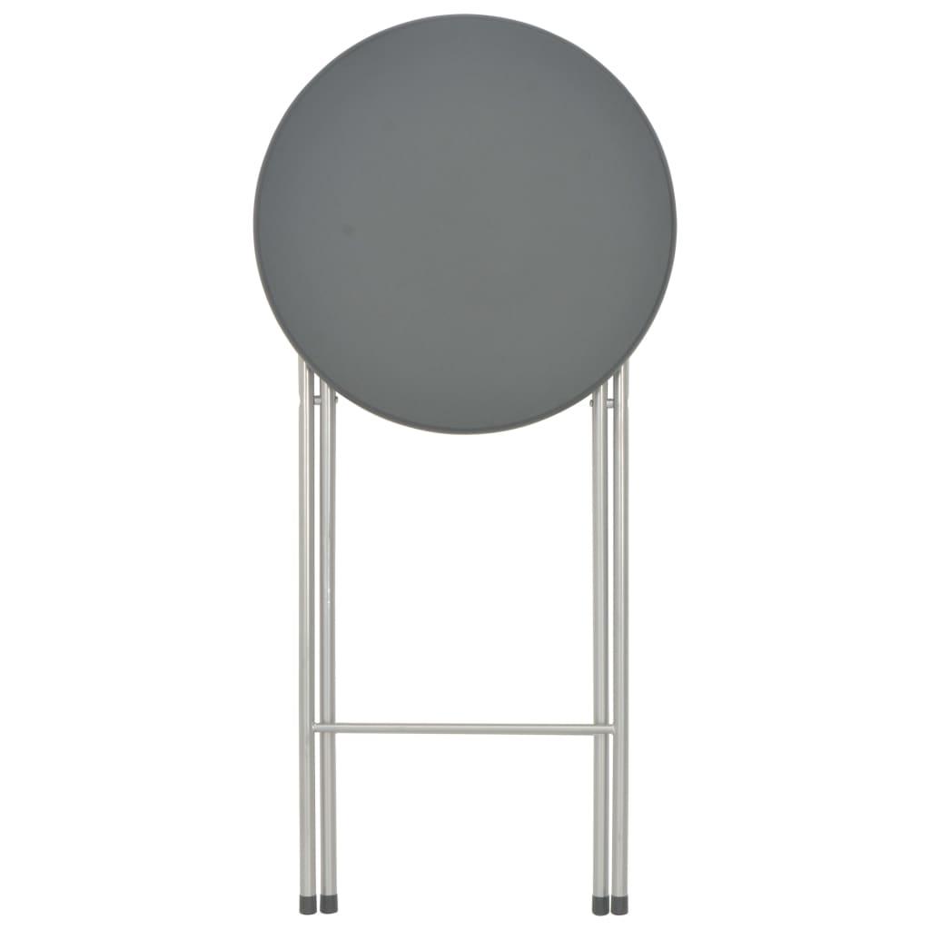vidaXL Mese de bar, 4 buc., negru, 60 x 112 cm, MDF
