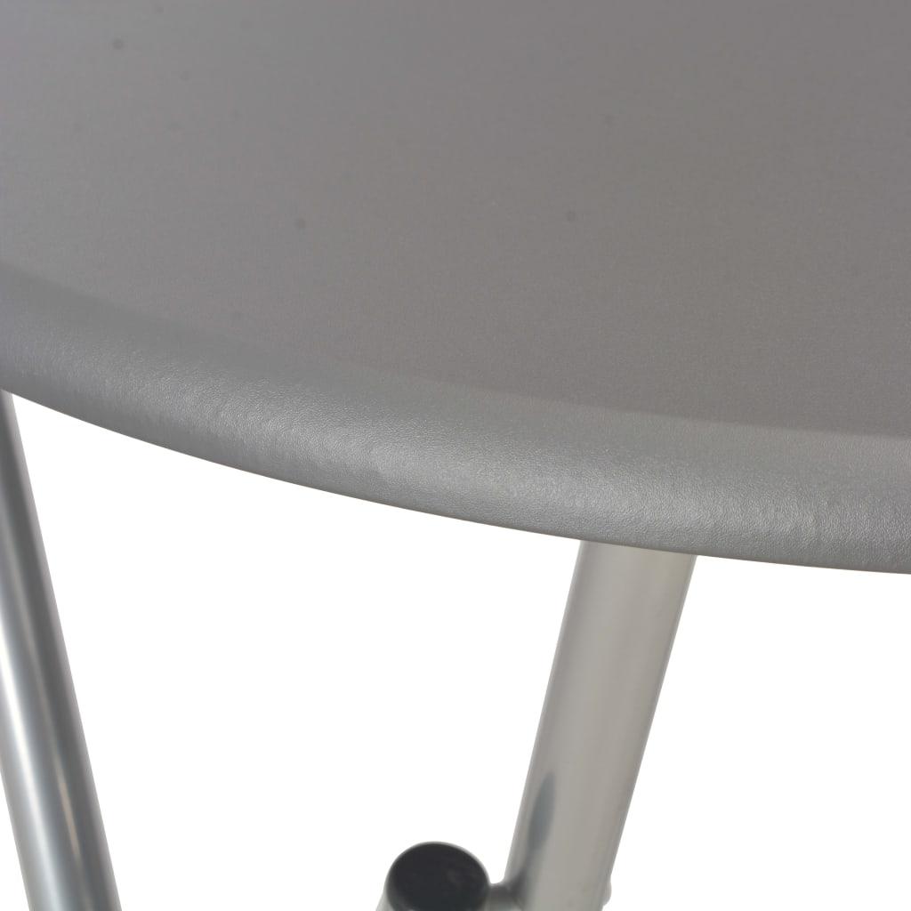vidaXL Mese de bar, 4 buc., antracit, 60 x 112 cm, MDF