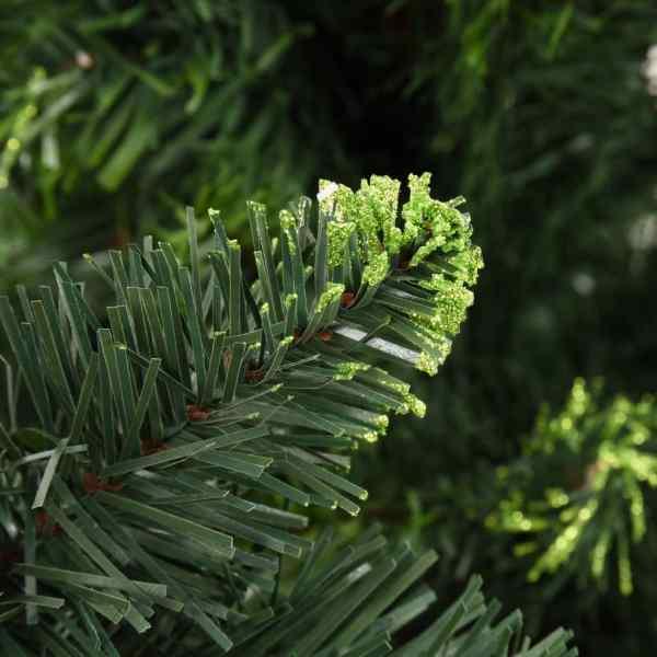 Brad de Crăciun artificial cu conuri de pin, verde, 180 cm
