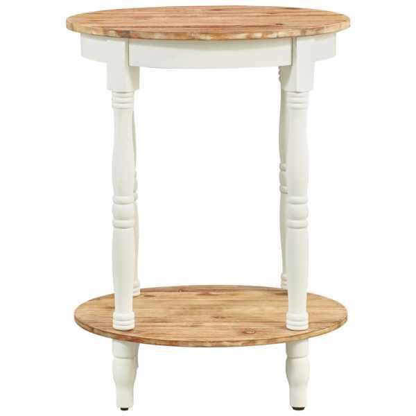 Masă laterală, 50 x 40 x 66 cm, lemn masiv de acacia
