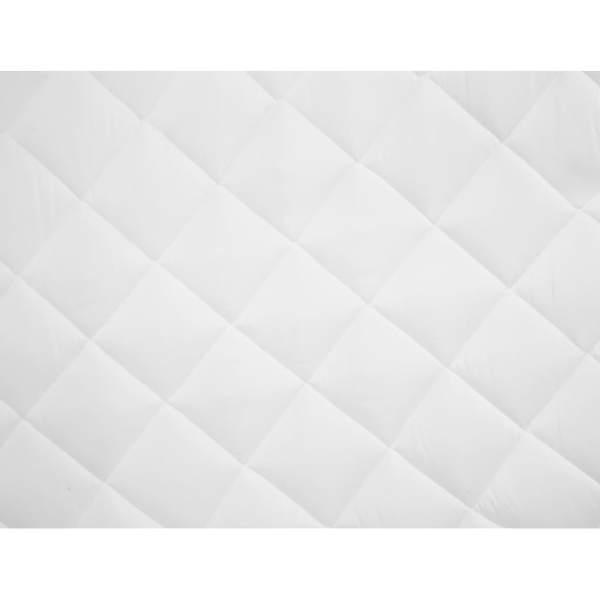 vidaXL Protecție pentru saltea matlasată, alb, 90 x 200 cm, subțire