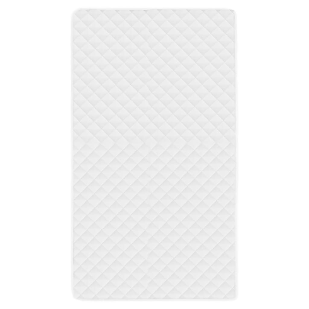 Protecție pentru saltea matlasată, alb, 120 x 200 cm, subțire