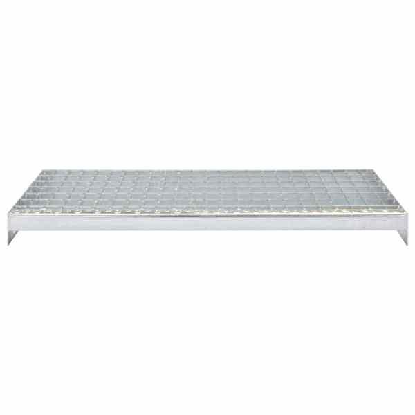 Trepte de scară presate 4 buc. 600×240 mm oțel galvanizat