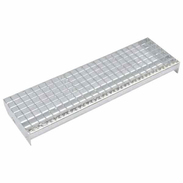 vidaXL Trepte de scară presate 4 buc.1000×240 mm oțel galvanizat