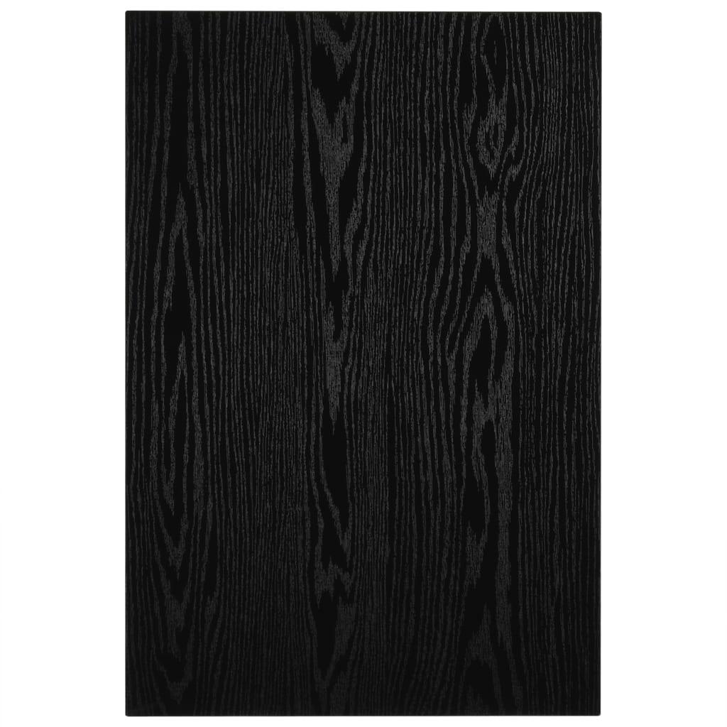 Mobilier de baie, negru, 60 x 40 x 16,3 cm