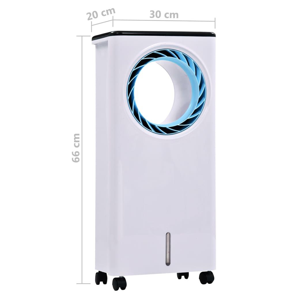 Răcitor de aer mobil umidificator purificator 3-în-1, 80 W