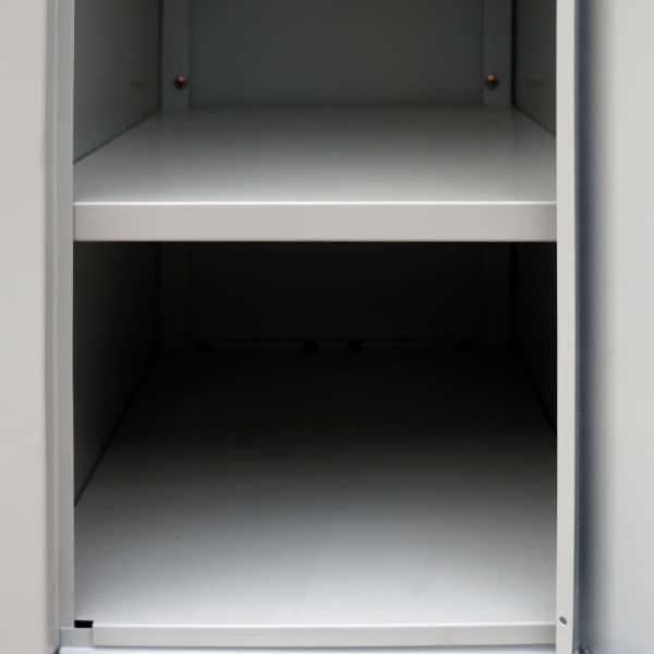 vidaXL Dulap vestiar cu 6 compartimente, gri, 90 x 45 x 180 cm, oțel
