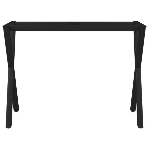 Picioare de masă cu cadru în formă de X, 100 x 40 x 72 cm