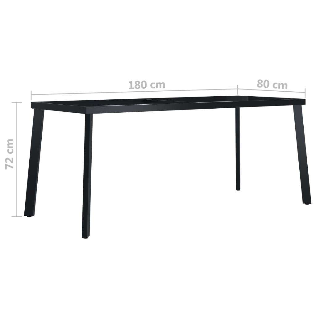 Picioare de masă cu cadru în formă de V, 180 x 80 x 72 cm