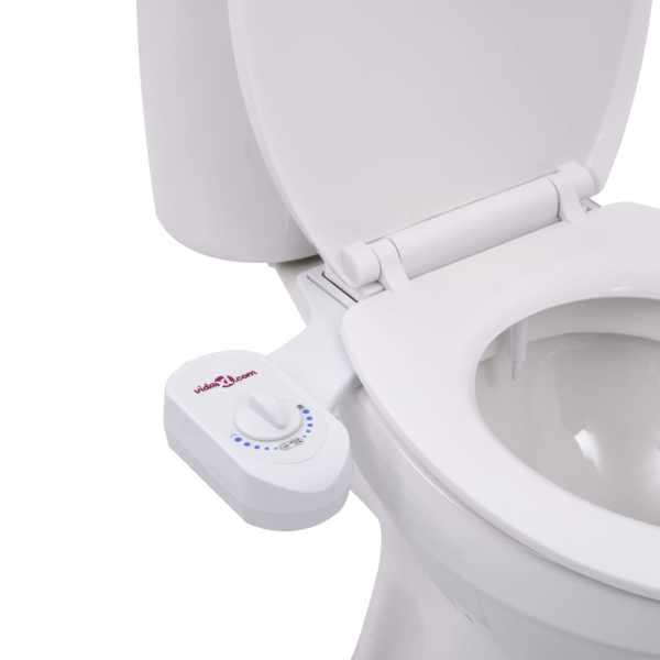 vidaXL Accesoriu bideu pentru scaun toaletă, duză unică