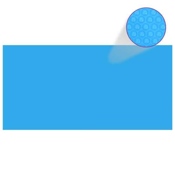 Prelată piscină, albastru, 488 x 244 cm, PE
