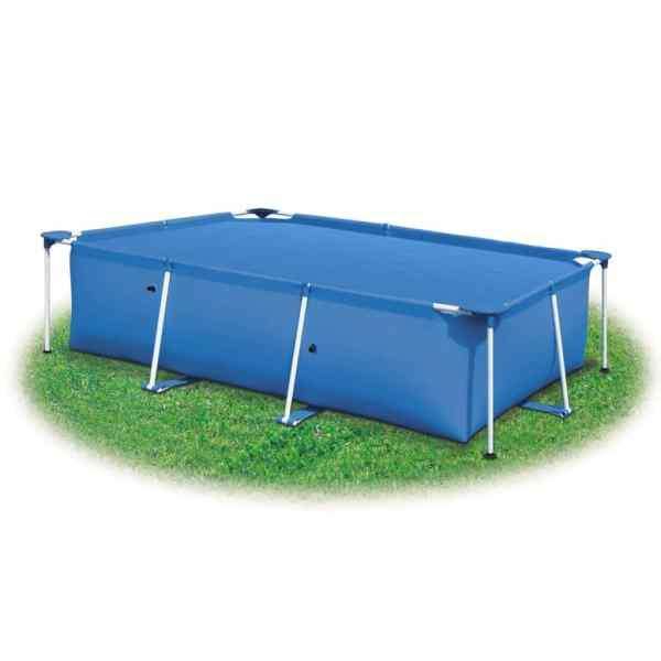 vidaXL Prelată piscină, albastru, 488 x 244 cm, PE