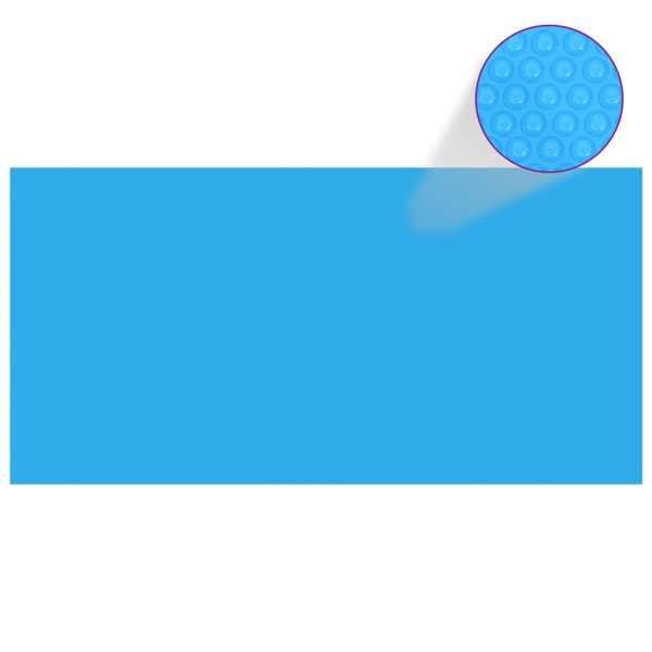 Prelată piscină, albastru, 975 x 488 cm, PE