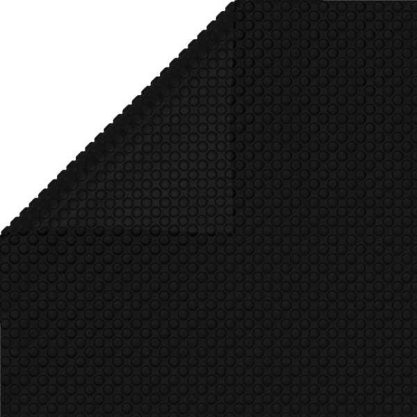 Prelată piscină, negru, 260 x 160 cm, PE
