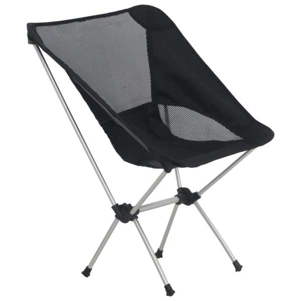 vidaXL Scaune camping pliabile cu husă, 2 buc., 54x50x65 cm, aluminiu