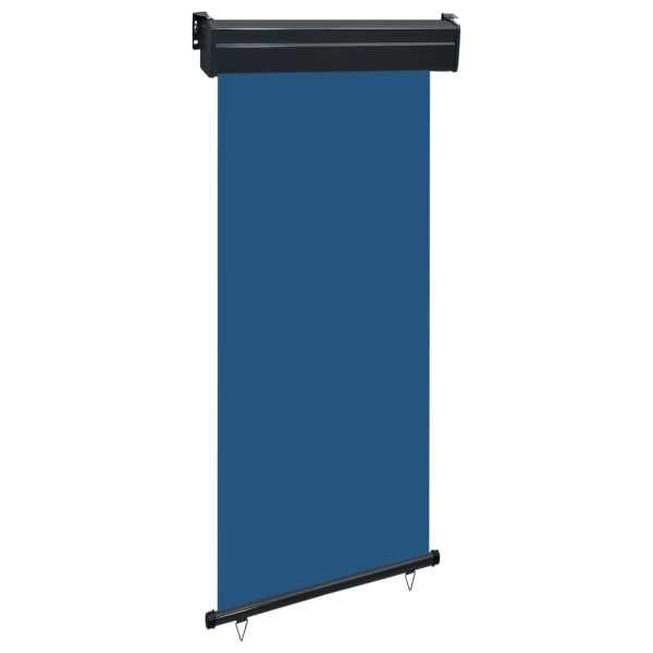 vidaXL Copertină laterală de balcon, albastru, 100 x 250 cm