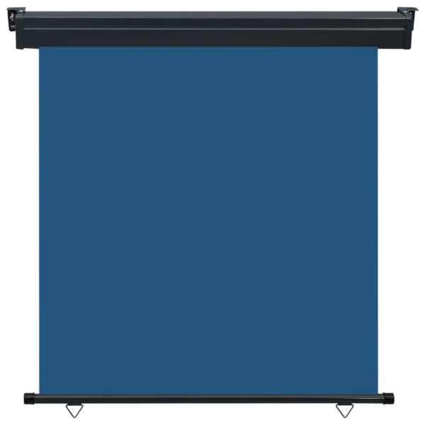 Copertină laterală de balcon, albastru, 160 x 250 cm