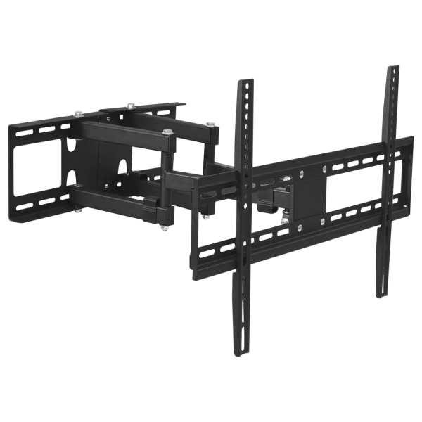 vidaXL Suport TV de perete pentru colț full-motion, 23″-65″