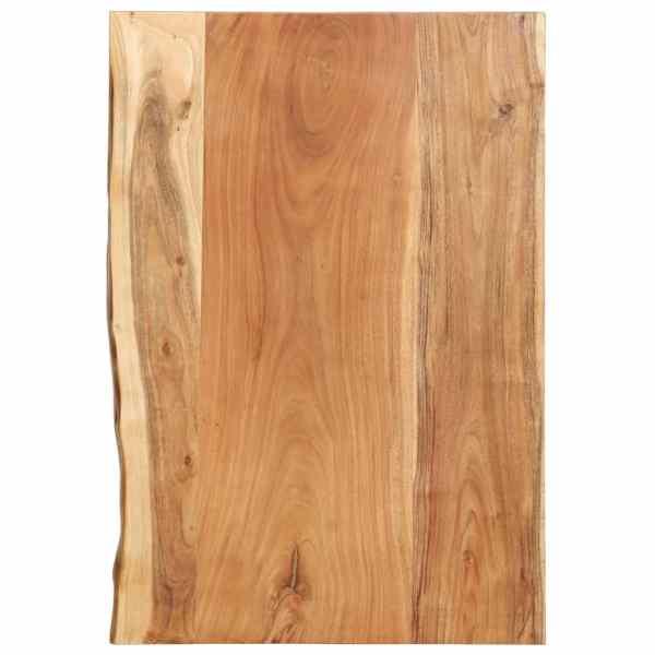 vidaXL Blat lavoar de baie, 80 x 55 x 3,8 cm, lemn masiv de acacia