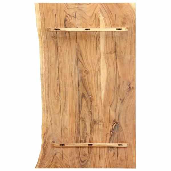 Blat lavoar de baie, 100 x 55 x 3,8 cm, lemn masiv de acacia