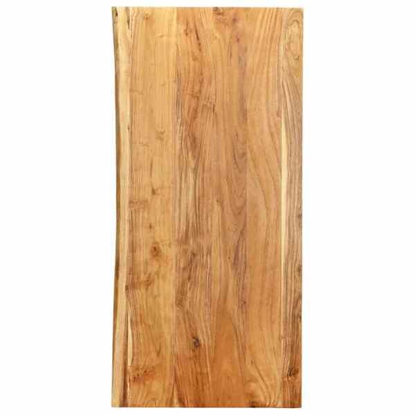 vidaXL Blat lavoar de baie, 120 x 55 x 2,5 cm, lemn masiv de acacia