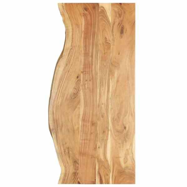 vidaXL Blat lavoar de baie, 140 x 55 x 2,5 cm, lemn masiv de acacia