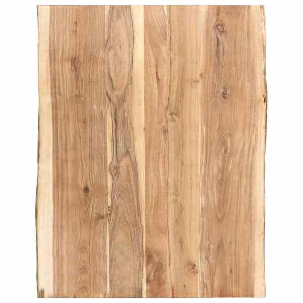 vidaXL Blat de masă, 80x60x3,8 cm, lemn masiv de acacia