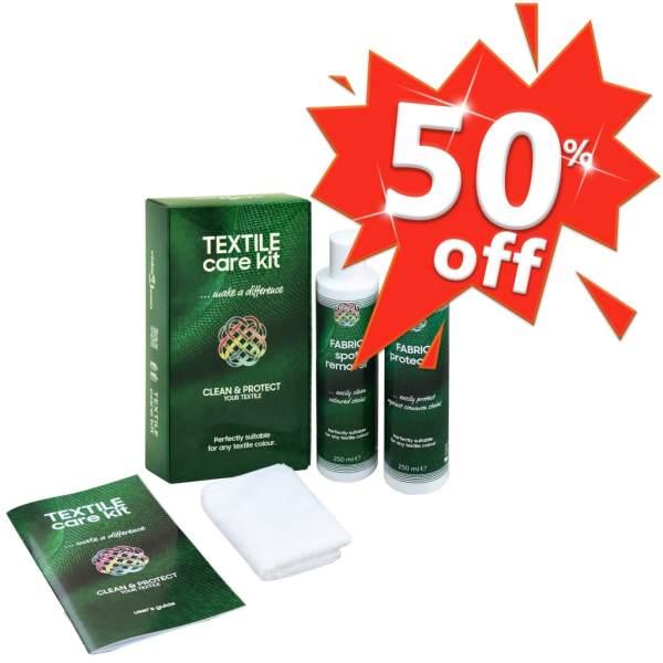 Set pentru îngrijire materiale textile, CARE KIT, 2 x 250 ml