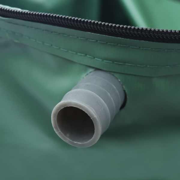 Rezervor de apă de ploaie rabatabil cu cep, 1000 L