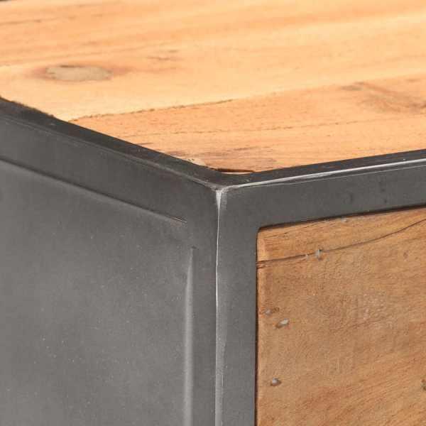 Dulap cu sertare, 45 x 30 x 100 cm, lemn masiv reciclat