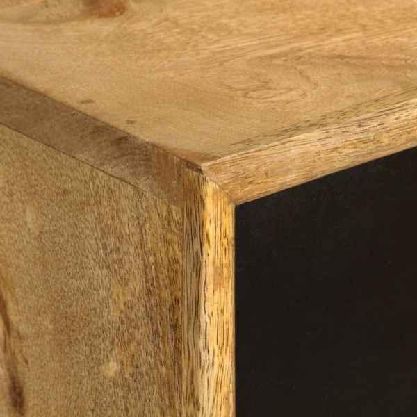 Birou cu sertare, 130 x 50 x 80 cm, lemn masiv de mango