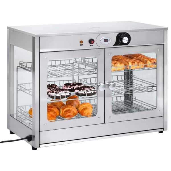 vidaXL Încălzitor alimente Gastronorm electric 1200 W oțel inoxidabil