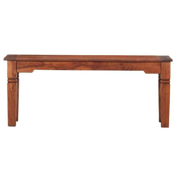 Bancă, 110 cm, lemn masiv de acacia