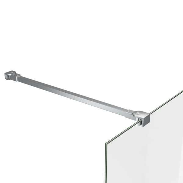 vidaXL Tijă de susținere pentru baie, 57,5 cm, oțel inoxidabil