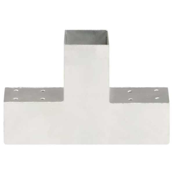 Conector de grindă, formă T, 71 x 71 mm, metal galvanizat