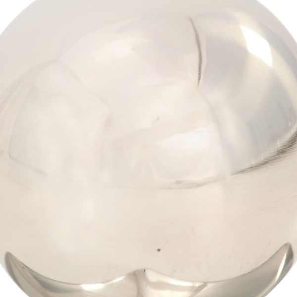 Capace stâlpi tip glob, 6 buc., 71 x 71 mm, oțel inoxidabil