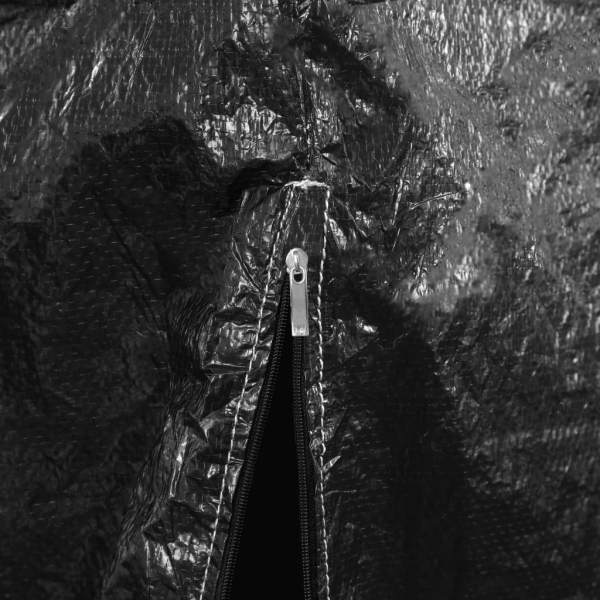 vidaXL Husă de balansoar, 10 ocheți, 2 fermoare, 255 x 145 x 170 cm