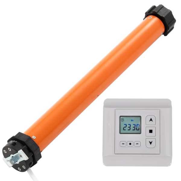 vidaXL Motoare tubulare cu telecomandă (144002 + 240357)