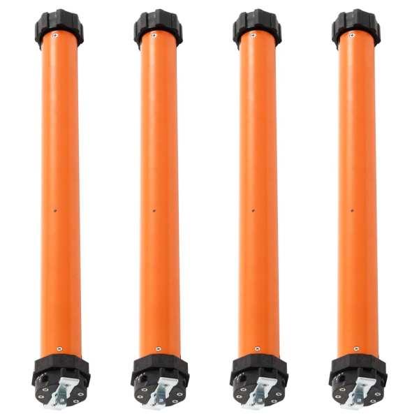 vidaXL Motoare tubulare, 4 buc., 50 Nm