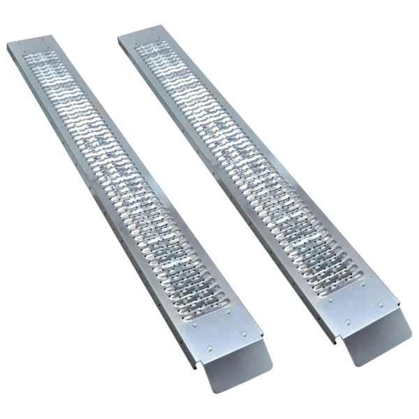 vidaXL Rampe de încărcare din oțel, 2 buc., 450 kg