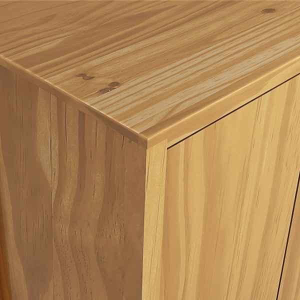 Șifonier cu 2 uși Hill Range, 89 x 50 x 170 cm, lemn masiv pin