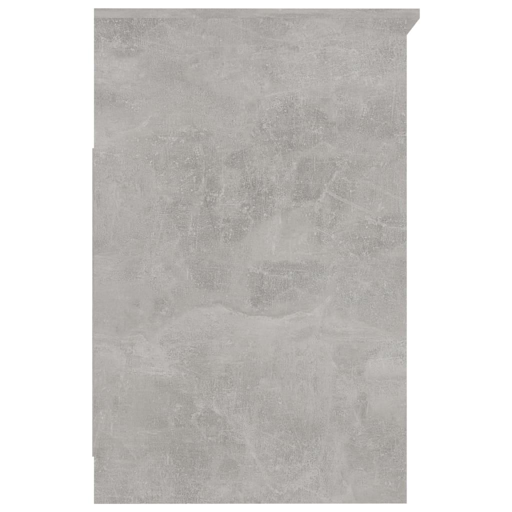 vidaXL Dulap cu sertare, gri beton, 40 x 50 x 76 cm, PAL