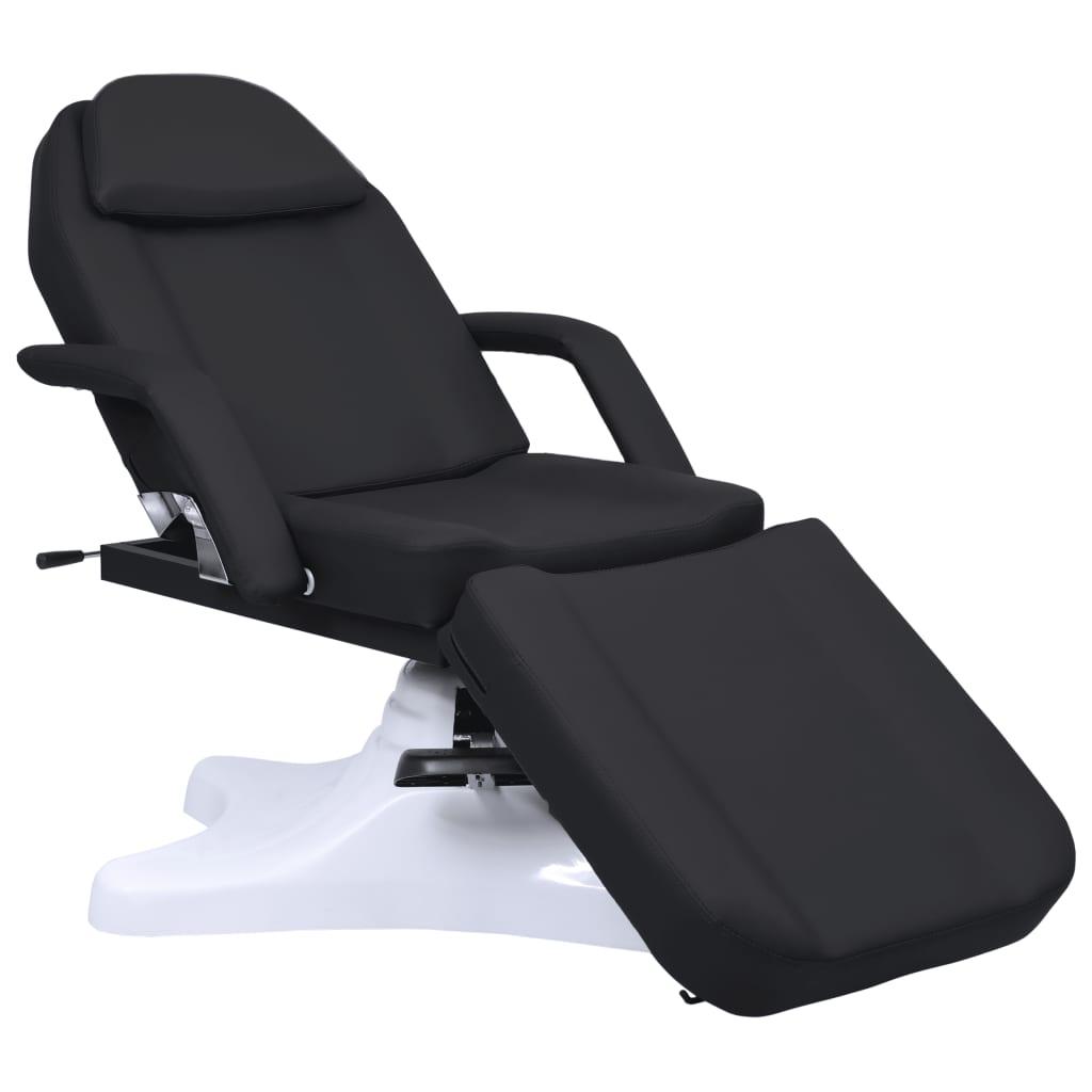 vidaXL Masă de masaj, negru, 180 x 62 x (86,5-118) cm