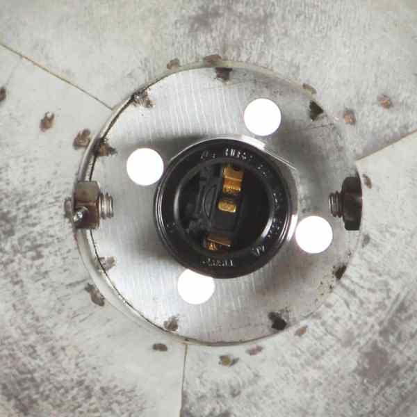 Lampă de perete industrială, argintiu, 65 x 25 cm, E27
